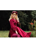 Miss Tasha Vintage Elegant Lolita Dress Matching KC by Cat Highness