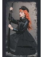 Lord Night Military Lolita Dress JSK by Cat Highness