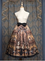 Pre-order Degas-Puppet Ballet Dancer Skirt by Cherry Bomb