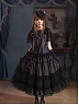 Pre-order Degas-Puppet Ballet Dancer Dot Blouse and Petticoat by Cherry Bomb