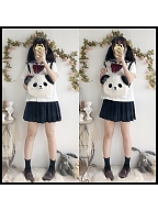 Bear Diary Two-ways Panda Bag by Cream Cheese