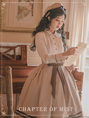 Chapter of Mist Series Lolita Shirt by Original Project