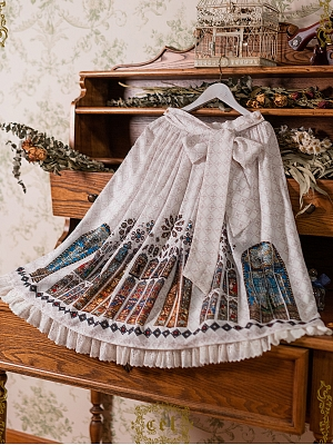 Church Stained Window Lolita Skirt SK by CEL