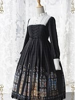 Detachable Collar Church Gothic The Long and Short OP by CEL