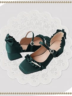 Mary Jane Ballet 10 Colors Lolita Shoes by ChirpLee