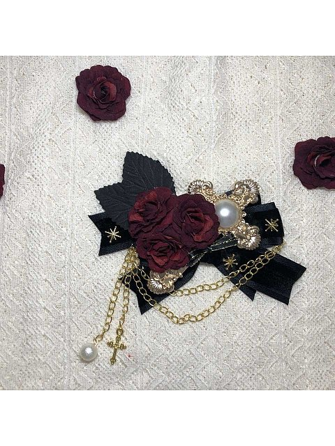 Kiss of Thorns Hairclip by Cherish Treasure