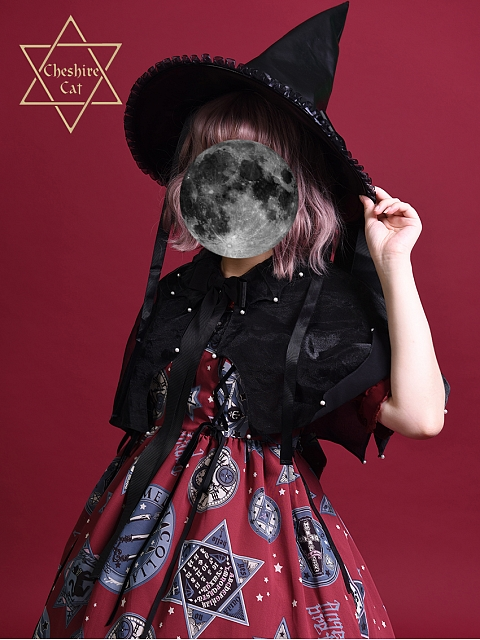 Trainee Witch Lilith Hat by Cheshiecat Lolita