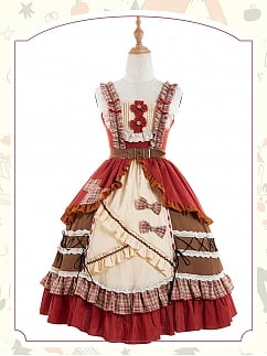 Little Red Riding Hood Lolita Dress JSK by ChunLv Lolita