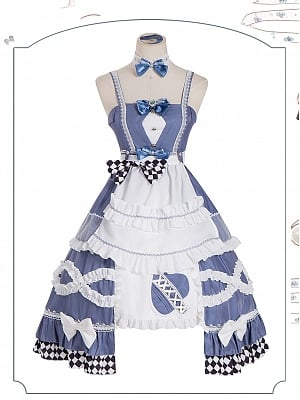 Alice Lolita Dress JSK Set by ChunLv Lolita