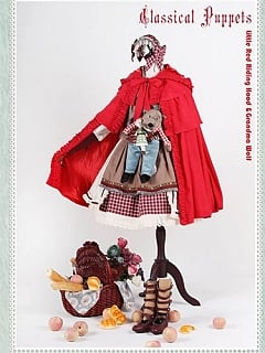 Little Red Riding Hood SET by Classic Puppet