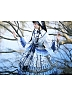 Pre-order Blue And White Porcelain Embroidered Long Sleeve OP by Classic Puppet