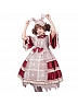 Pre-order Waffle Rabbit Open-Front Half Sleeve OP by Classic Puppet