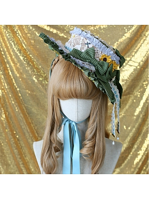 Romantic Field Hat by Classic Puppet