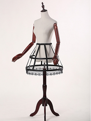 Basis Fishbone Cage Crinoline by Classic Puppet