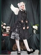 [Limited Edition] Cat Romance and Junji Ito Collaborated Tomie Gothic Lolita Style Skirt by CR