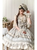 Laurel Lake Sweet Lolita Tea Party JSK by Cat Romance