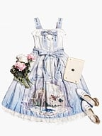 Sound of Eco Sweet Lolita JSK Normal Version by Cat Romance