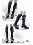 Forever Night Boots by Castle Too