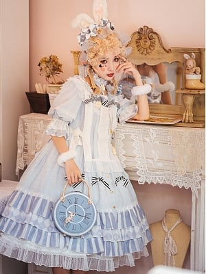 Alice Lolita Dress Matching Bib and Petticoat by Cupid Cute