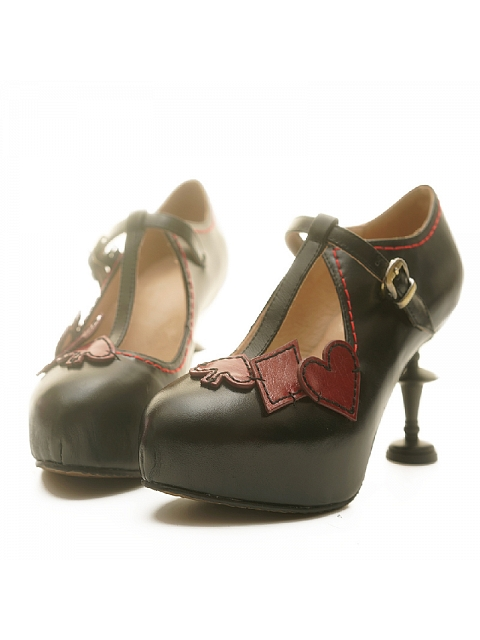 Alice Candlestick-shaped High-heel Shoes by Baroque Mask