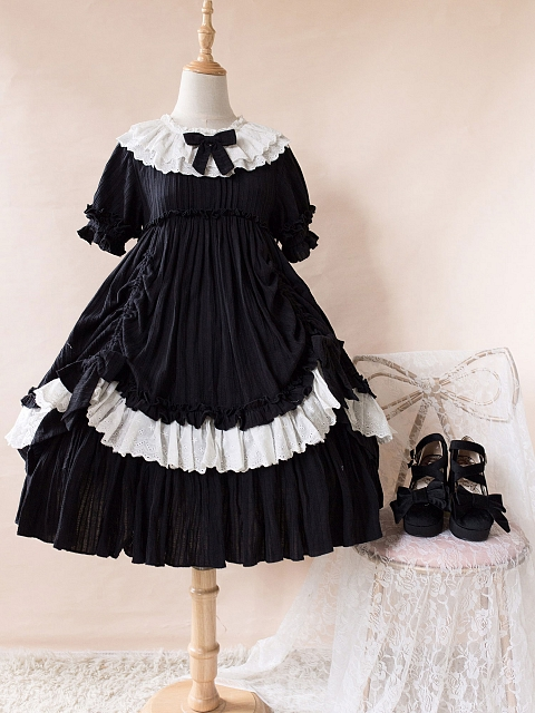 Sweet Lolita Little Sweetie OP by Crucis Universal Tailor Company