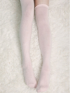 Just Over Knee Length Cotton Stockings by Crucis Universal Tailor Company