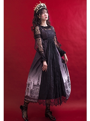 The Castle Gothic Lolita JSK by Cute You