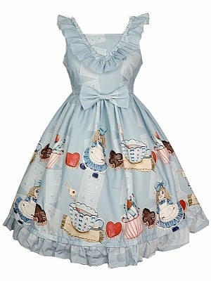 Alice Doll Printed JSK by Diamond Honey