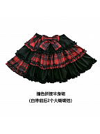 Underground Band Top and Skirts Set by Diamond Honey