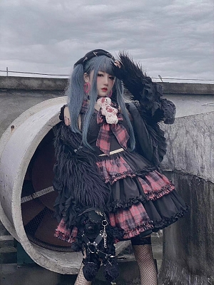 Esports Girls Rebellious Bear Harajuku Set by Diamond Honey