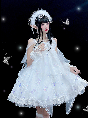 Fairy Butterfly Lolita Dress JSK by Diamond Honey