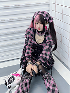 Esports Girls Harajuku Dress Matching scraf by Diamond Honey