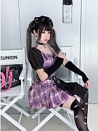Ghost Hospital Set Top and Skirt by Diamond Honey