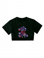 Dark Strawberry Jam Teddy Series T-shirt by Diamond Honey