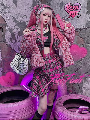 Hot Girl Y2K Style Set Jacket / Cami Top / Skirt by Diamond Honey