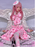 Sick Love Story Dark Sweet Set Shirt / Skirt by Diamond Honey