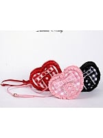 Heart-Shaped Plaid Crossbody by Diamond Honey