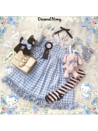 New Version Plaid Chiffon OP by Diamond Honey