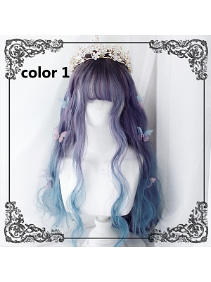 Mermaid Wavy Long Synthetic Wig by Dream Holic