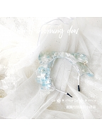 Tears of Aquamarine Accessoriesby Dawn and Morning Dew