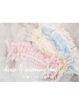 Ruffle Hairband by Dawn and Morning Dew