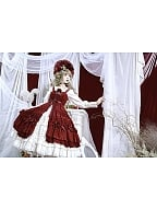 Rozen Maiden Classic Lolita JSK by Dawn and Morning Dew
