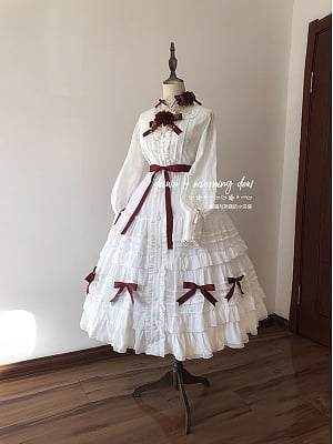 Rozen Maiden Classic Lolita Blouse and Skirt by Dawn and Morning Dew