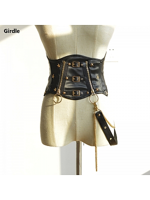 Locomotive Girl Punk Lolita Girdle by Doris Night