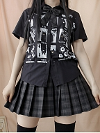 Ace Meow Lolita Shirt Female /Male by Paltry Star Shine