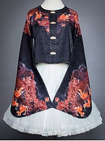 Pre-order Goldfish Swimming in Lotus Chinese-Style Jacket by EdenLost
