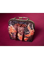 Pre-order Goldfish Swimming In Lotus Frame Bag by EdenLost