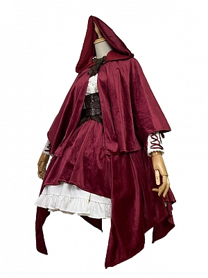 Reverse Fairy Tale Little Red Riding Hood Matching Cape / Girdle by Elk's Habitat