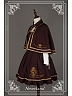 Royal Academism Style Lolita Cape with Golden Triming - Eternal Sirius by Souffle Song