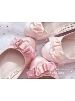 Imitated Pearls Ankle Strap Shoes by Evol Day